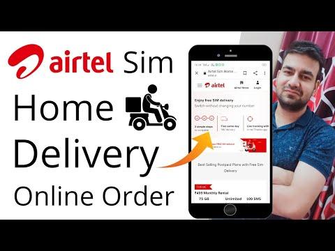 Airtel Sim Home