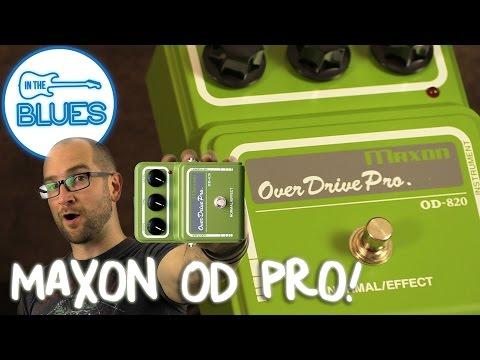 Maxon Overdrive Pro OD-820 Pedal