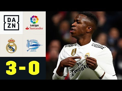 Vinicius Junior Und Real In Torlaune: Real Madrid - CD Alaves 3:0 | La Liga | DAZN Highlights