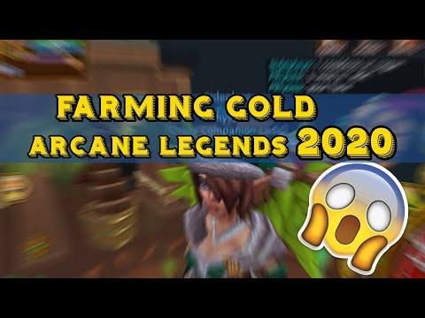 ARCANE LEGENDS | FARMING GOLD 2020 | OPENING 48M ON PLAT EGG