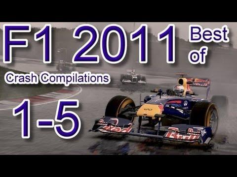 F1 2011 Best of Crash Compilations 1-5