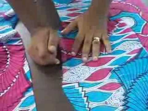 African inspired dress part 1 - YouTube