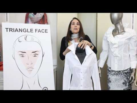 Face Shapes And Necklines - Fashion Tips By Marilyn Hellman