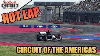 Grid Autosport Gameplay - Hot Lap (World Record) - Formula B - Circuit of the Americas
