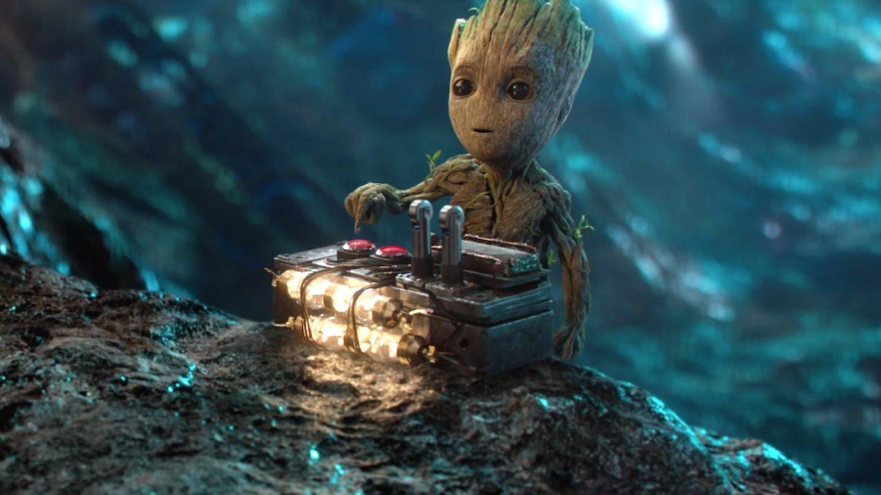 Guardiani della Galassia Vol. 2 Non premere questo pulsante Clip dal film