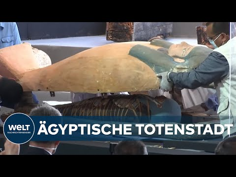 Ägypten: 2000 Jahre alte Sarkophage entdeckt