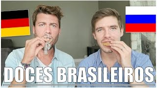Americans trying Brazilian food