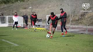 Trabajo del Rayo Vallecano de cara al Sevilla Atlético