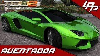 TEST DRIVE UNLIMITED 2 MODS: Lamborghini Aventador LP700-4