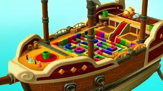 Mario Party 10 - Minigames - Mario vs Rosalina vs Luigi vs Peach