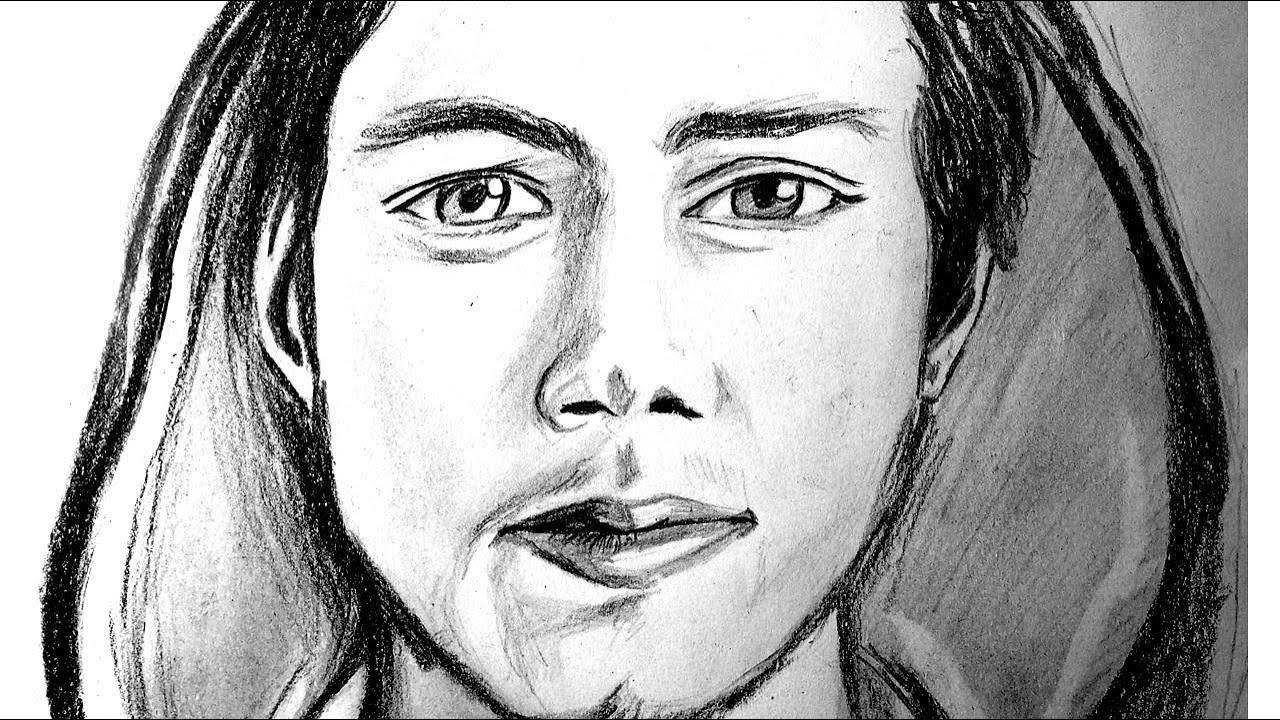 Dibujando A Dylan Obrien Thomas Maze Runner