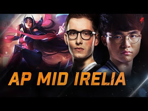 How high elo players flex new Irelia ft. Faker, Wickd, Bjergsen