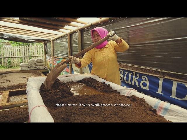 Video Tutorial: Pemanfaatan Bio-slurry untuk Kascing