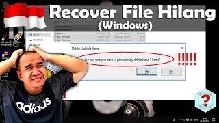 Cara Mengembalikan File yang Hilang di Windows (Recover File : Recuva)