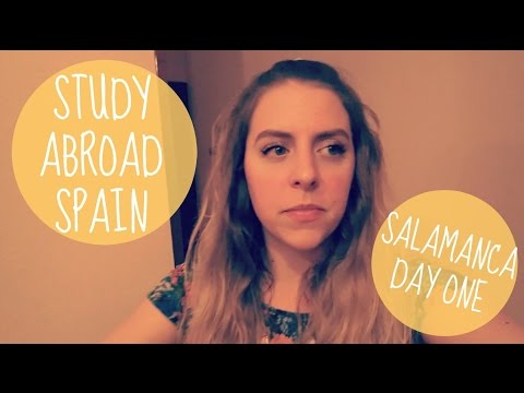 Studying Abroad in Spain - Salamanca Day One