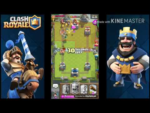 Clash Royale let's play 11# - All-legendary-deck Trolling! (English)