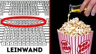 9 Geheimnisse, die Kinos vor dir verbergen