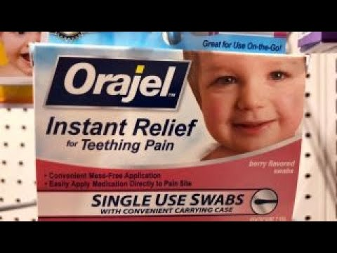FDA's teething medication warning