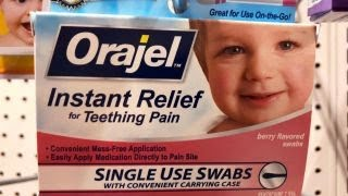 FDA's teething medication warning thumbnail