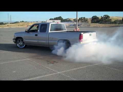 BIGGEST BURNOUT IN A CHEVY SILVERADO EVER!! - YouTube