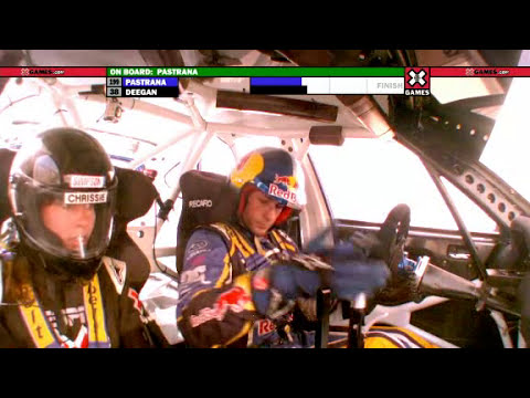 Download Travis Pastrana Crashes Out of Rally X Games 16 Snapshots