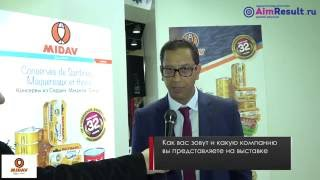 Midav. Morocco. World Food 2016. AimResult.Ru World Food Moscow 2016