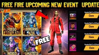 Free Fire Upcoming New Event || Money Heist Event || Garena Free Fire Max || New Update