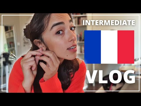 GET READY WITH ME IN FRENCH (English subtitles) | A day in Paris | Intermediate French Vlog