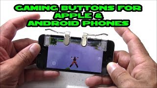 Aimus Gaming buttons for Iphone and Android phones to play PUBG / FORTNITE & more