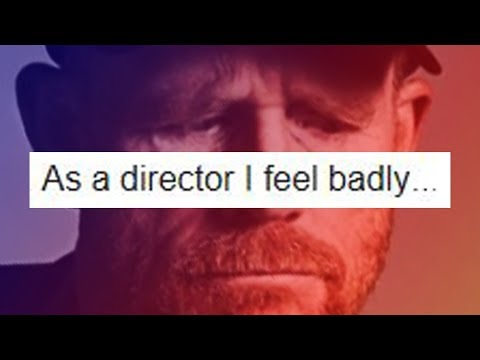 SOLO director RON HOWARD responds to 's STAR WARS lament....