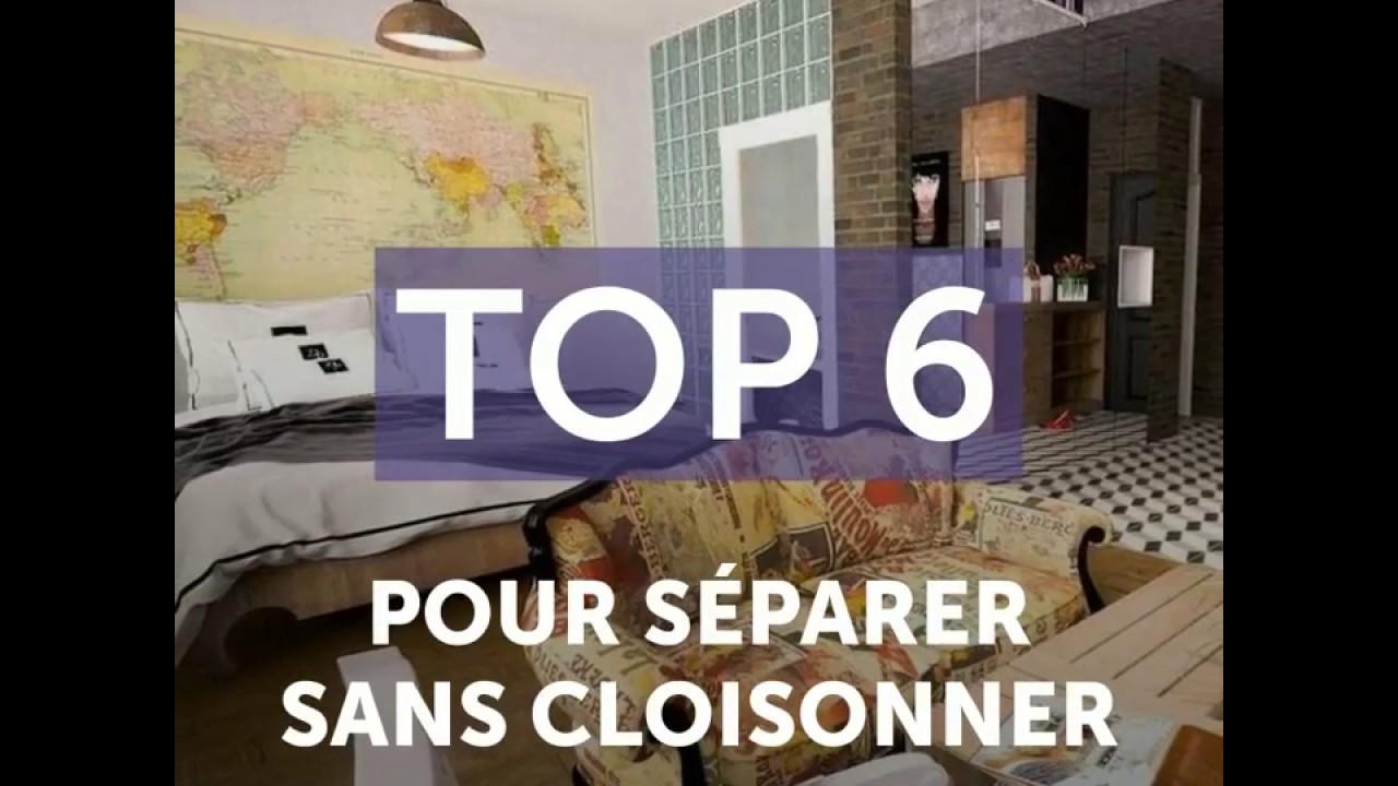 Faire Une Separation Entre 2 Pieces top 6 séparer une pièce en 2 sans cloisonner - ooreka.fr