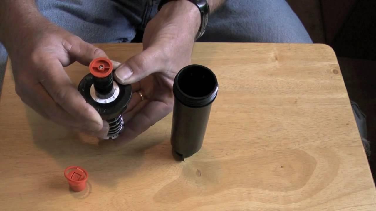 How To Install A Rain Bird 1800 Series Nozzle