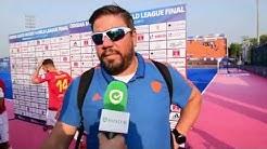 Reactie Max Caldas na Nederland-Spanje HWL Final Bhubaneswar