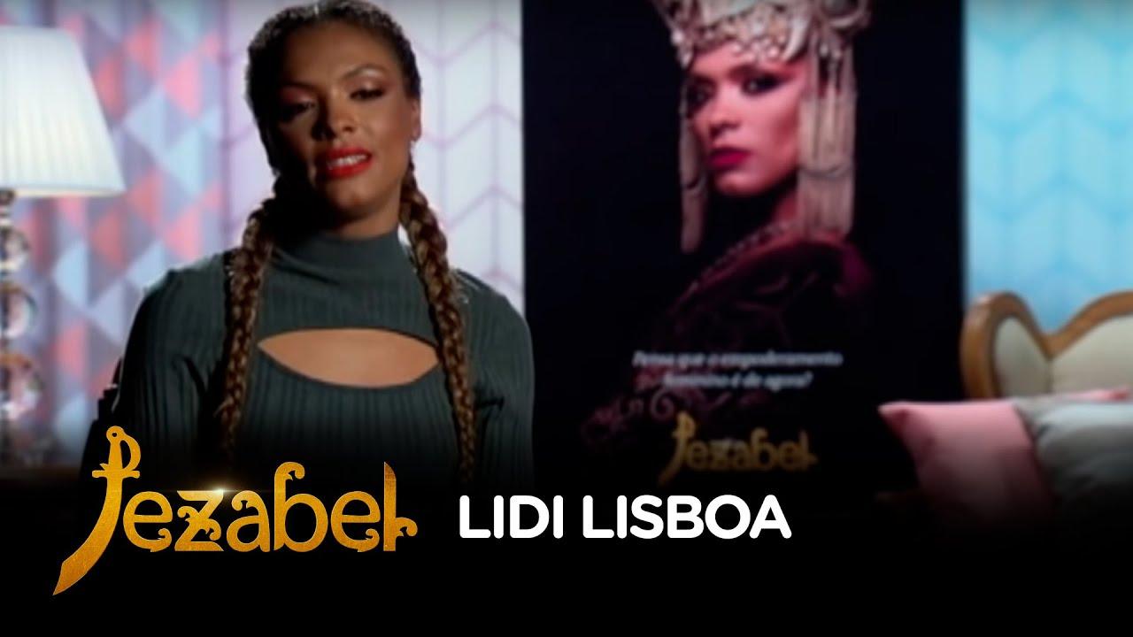 Atriz Lidi Lisboa lidi lisboa conta o que o p�blico pode esperar de jezabel