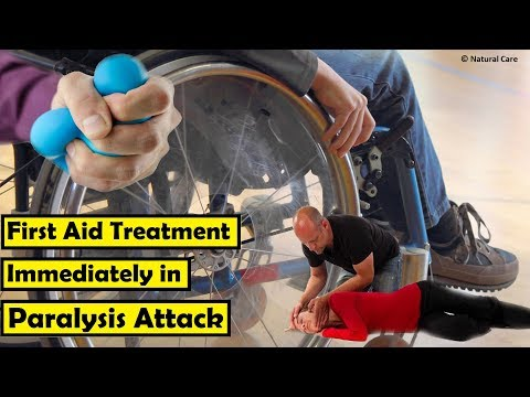 First Aid Treatment Immediately in Paralysis Attack