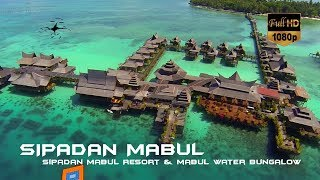 Amazing Mabul Water Bungalow Resort Tour + Aerial footage