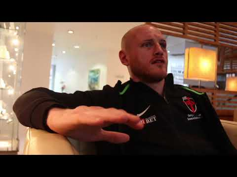 GEORGE GROVES REACTS TO EUBANK JR WIN, SHOULDER INJURY, DeGALE, NAZ COMMENTS, SLAMS REF /EUBANK SNR