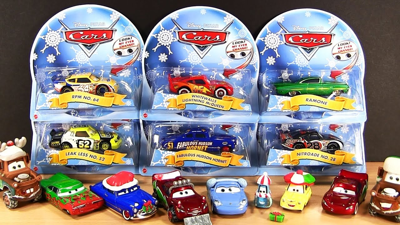 Cars Christmas Holiday Edition Fabulous Doc Hudson Hornet Lightning ...