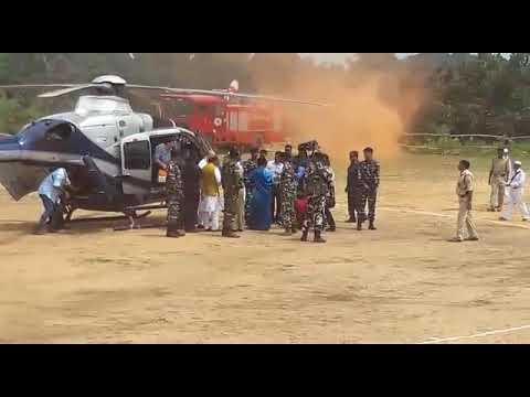 ULIHATU ,THE NATIVE VILLAGE OF BHAGWAN BIRSA MUNDA,v visited by HON CM JHARKHAND AND HON AMIT SHAH G