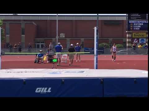 Amanda Wiebke - Heptathlon (High Jump)