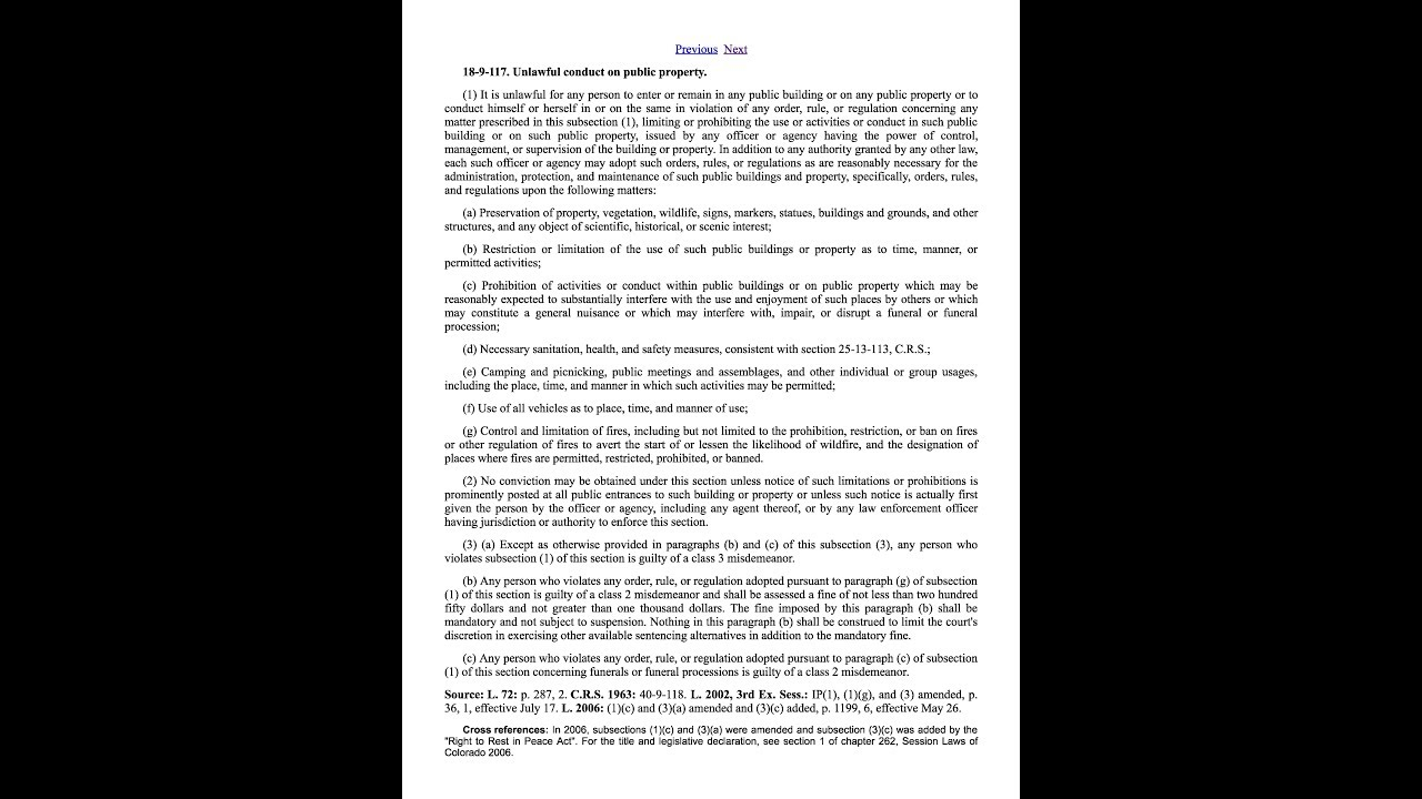 Colorado Revised Statutes And Colorado Model Jury Instructions For