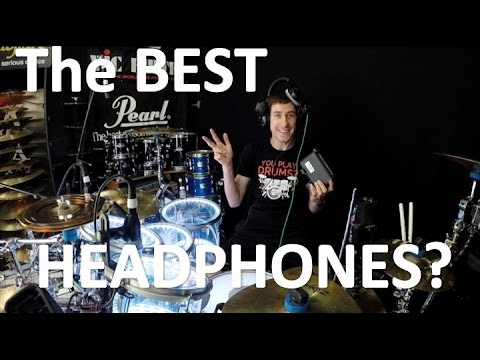 The Best Headphones for Drumming & Musicians? (Review/Showcase)
