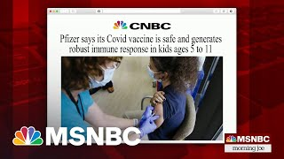 Pfizer Says Its Covid Vaccine Is Safe And Effective For Children Ages 5 To 11