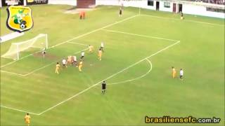 Caxias 3 x 0 Brasiliense (Campeonato Brasileiro Série C 2012)