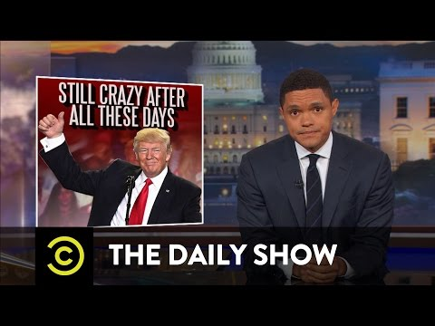 Thumbnail: President Trump's 100-Day Milestone: The Daily Show