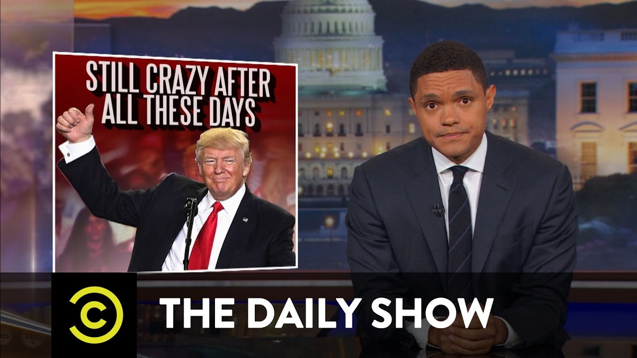 President Trump's 100-Day Milestone: The Daily Show