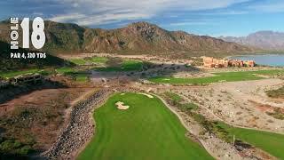 TPC Danzante Bay Golf Course Hole #18 Loreto, Mexico