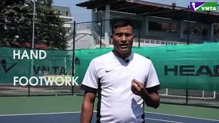 VNTA Tennis| 3 Ngày Tập Tennis Volley |Ngày 2| Footwork