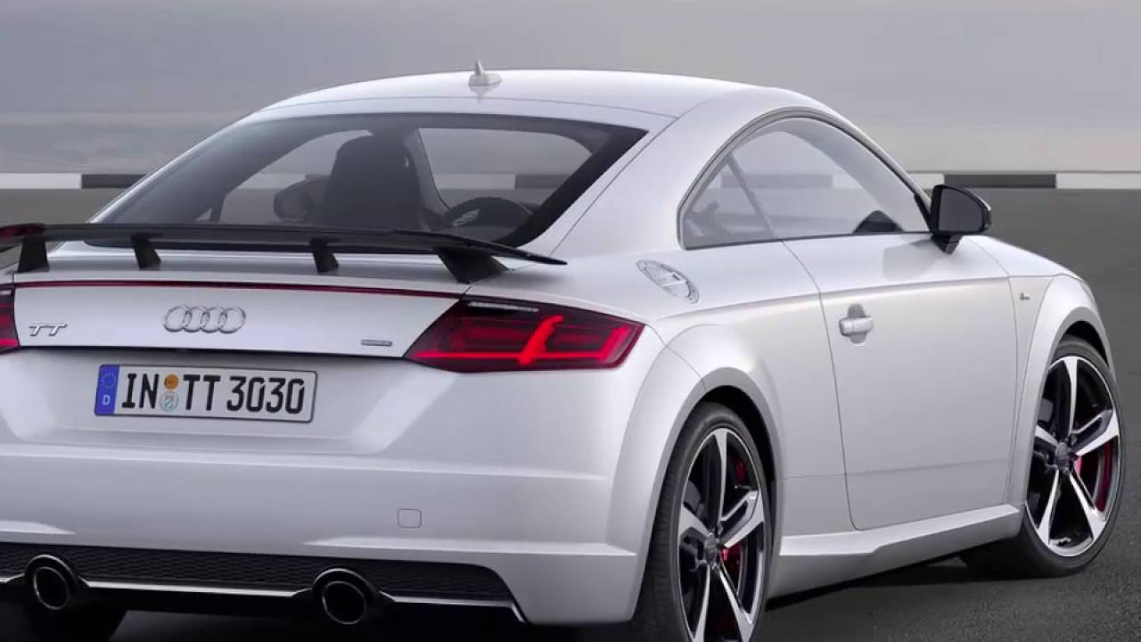 review audi tt coupe s line competition 2016 youtube. Black Bedroom Furniture Sets. Home Design Ideas