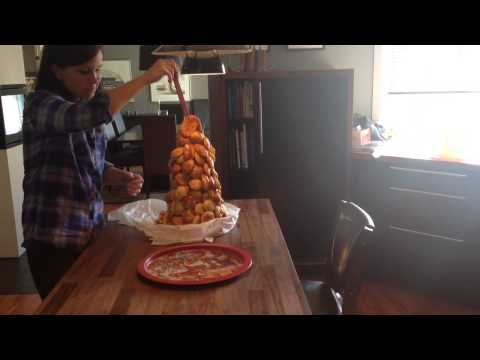 Croquembouche failed